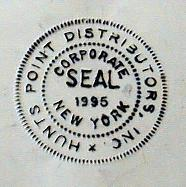 Seal imprint after using Seal Inker